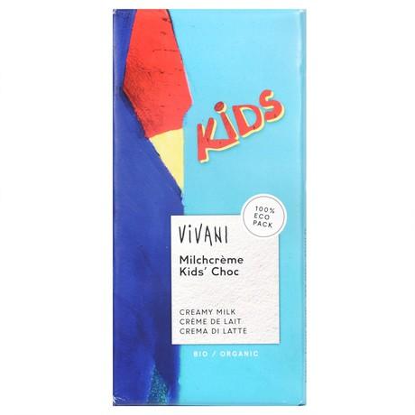 czekolada mleczna dla dzieci