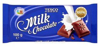 tesco czekolada