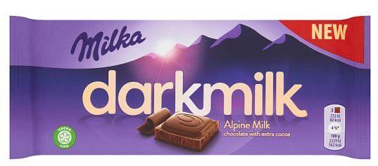 dark milk milka