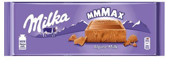 czekolada mleczna milka duża