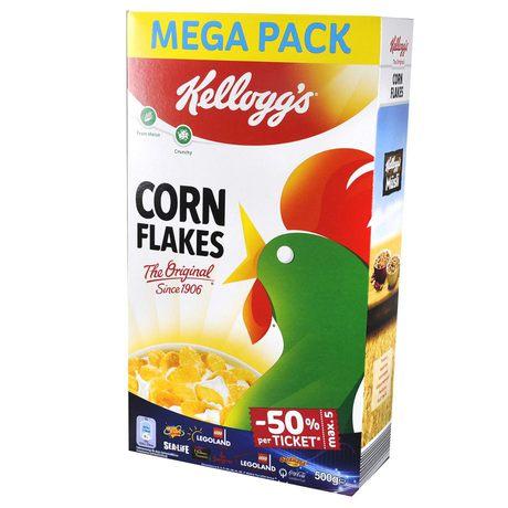 Kelloggs - Corn Flakes płatki śniadaniowe kukurydziane