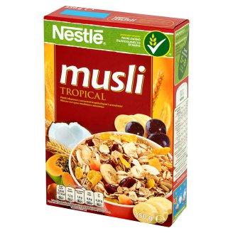 Nestlé Musli Tropical Płatki zbożowe z owocami tropikalnymi i orzechami 350 g