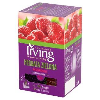 Irving Herbata zielona malinowa