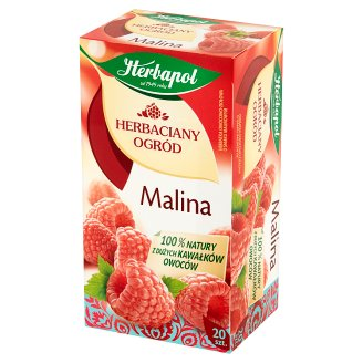 Herbapol Herbaciany Ogród Herbatka owocowo-ziołowa malina