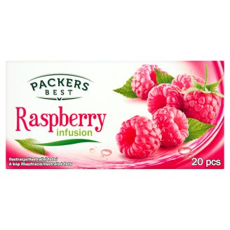 Packers Best Raspberry Infusion Herbatka owocowa