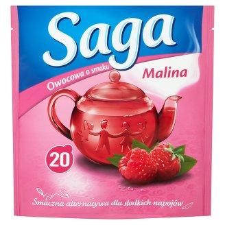 Saga Herbatka owocowa o smaku malina