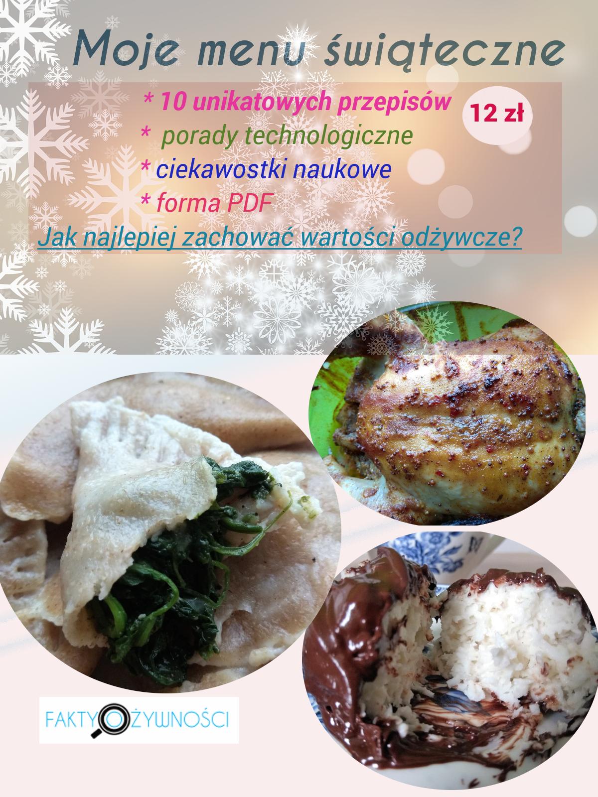 moje menu świąteczne