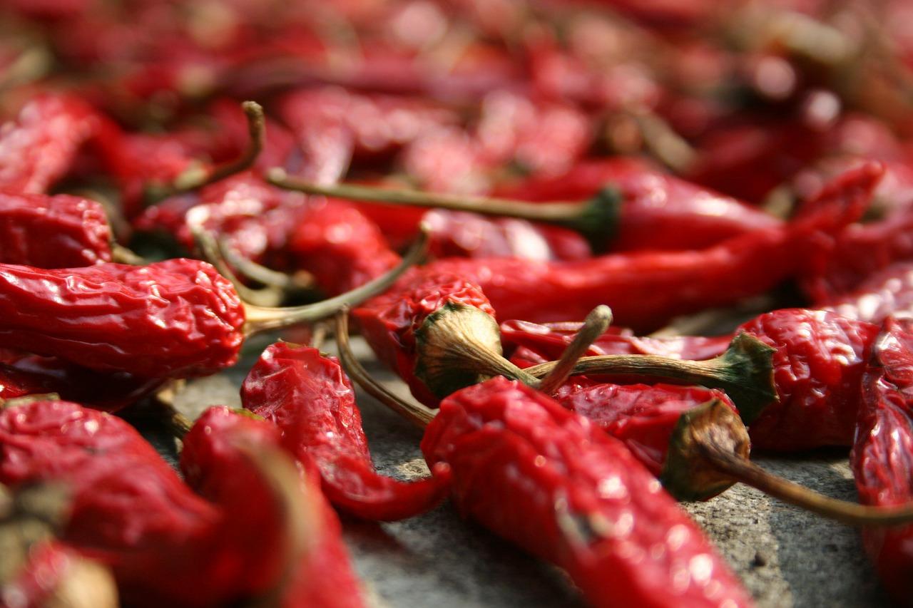 kapsaicyna chili