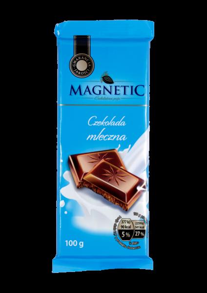 czekolada mleczna magnetic