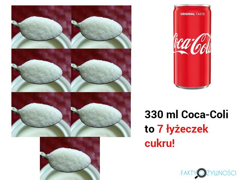 cola 7 łyżeczek