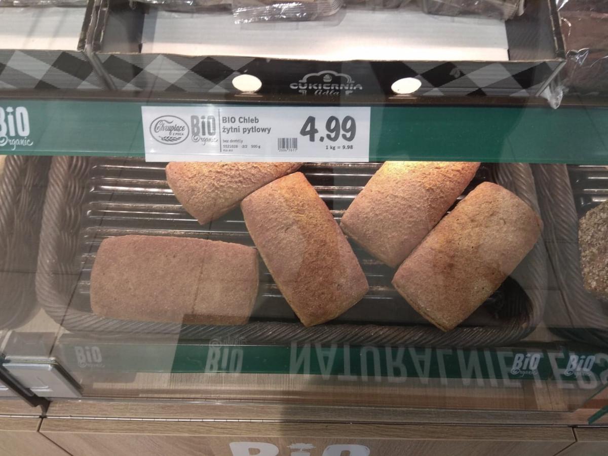 chleb żytni pytlowy lidl