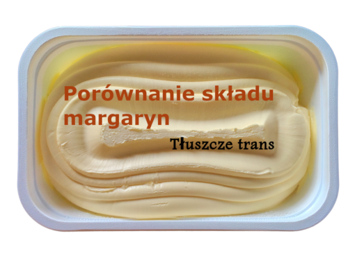 porównanie składu margaryn