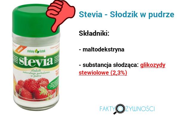 stevia słodzik