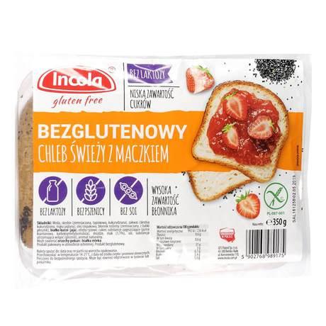 Incola - Bezglutenowy chleb świeży z maczkiem