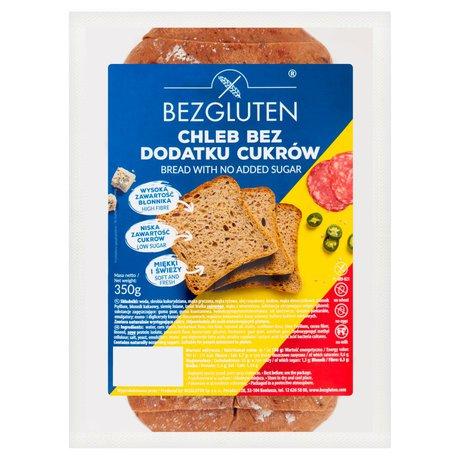 Bezgluten - Chleb bez dodatku cukrów bez laktozy