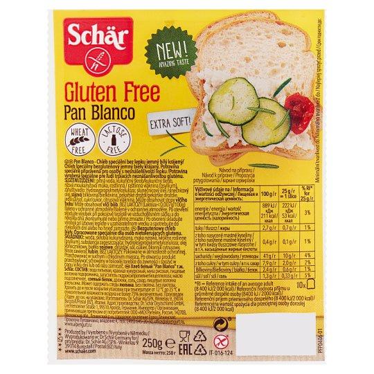 Schär Bezglutenowy chleb biały 250 g
