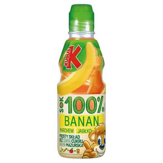 Kubuś 100% Sok banan marchew jabłko 300 ml