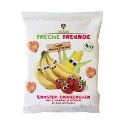 Chrupki Kukurydziane Bananowo-Truskawkowe 25g
