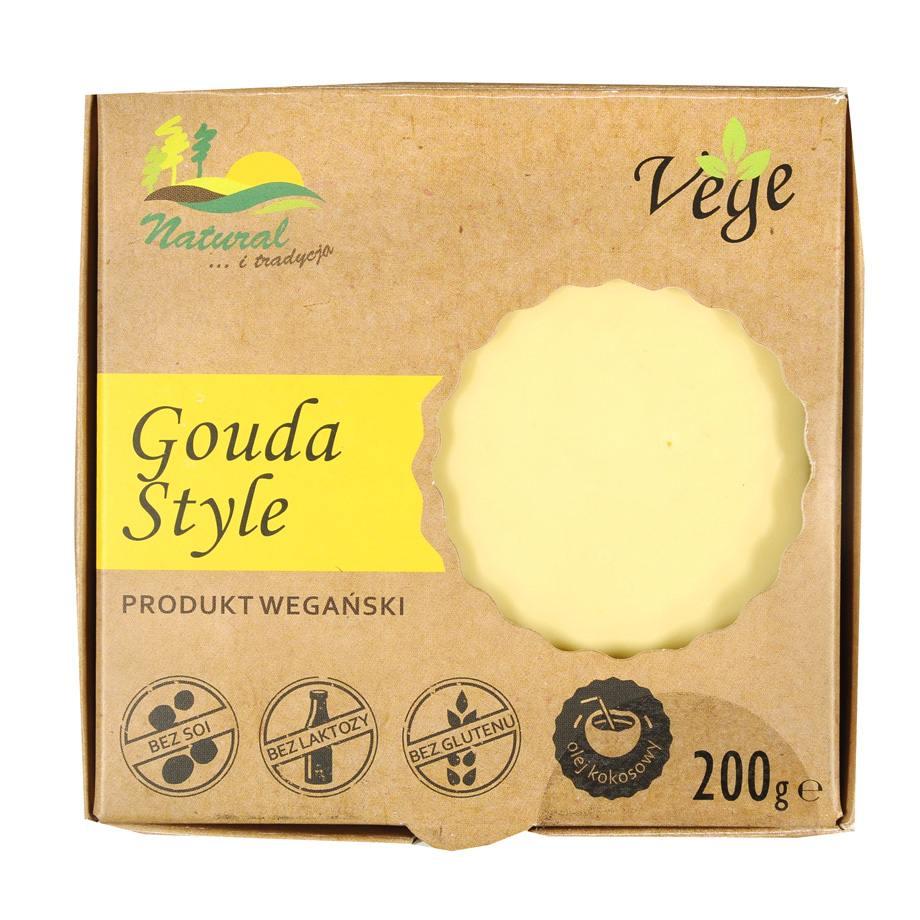Natural - Gouda Style produkt wegański