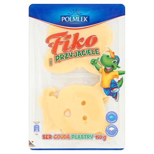 Fiko i Przyjaciele Ser Gouda plastry 150 g