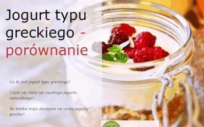 Jogurt typu greckiego – porównanie