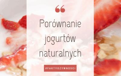 Jogurt naturalny – porównanie